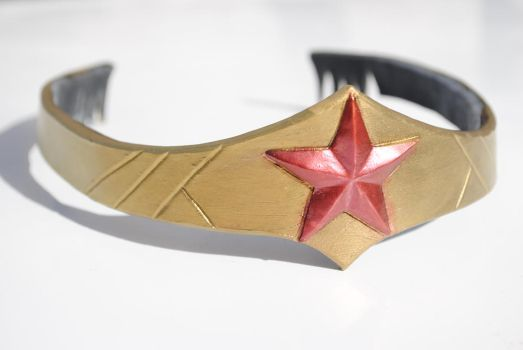 Newer Sleeker Wonder Woman Tiara by ZigorC