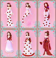 Rebekah's new forms and clothing designs by UltimateAlexandra1