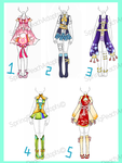 Clothing Batch 7 (Set Price)- OPEN by SpringPeachAdopts
