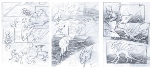 pages Szpon (sketches) by BlueSzpon