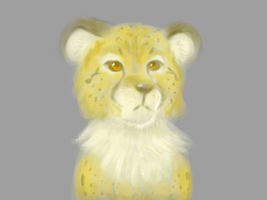 lineless cheetah by firagare
