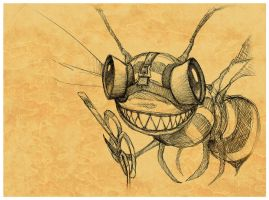 Doldrums Bee by MisterBlackwood