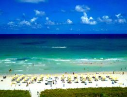 the beautiful ocean of miami by shayminlover492