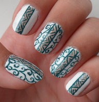 Jugendstil Nail Art by xRixt