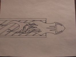 Bullet uncolored V-1 by PrYmO-ART