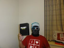 Ghost loves Windows Phone, Windows and MW3 by IWSFOD-D