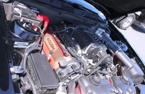 Roush Charged Mustang Engine by StallionDesigns