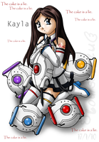 GLaDOS ID by Louisalulu by EtherealStardust