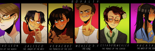 Mexican Royalty by NerdyJones