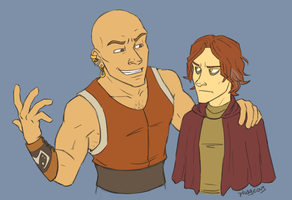 Roric and Blaine by Phageous