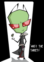 'Who's The Target?' by InvaderRaf