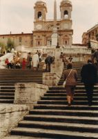 The Spanish Steps by JulianasGrandma