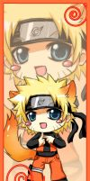 bookmark naruto chibi by Tenryuushi
