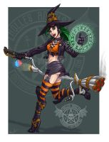 Biker Witch by Timbone
