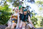 Faun girls by AstroKerrie
