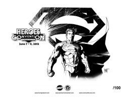 HeroesCon 2013 exclusive Print by KenHunt