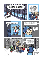 Despondent Mega Man Island of Misfit Game Part 8 by JesseDuRona