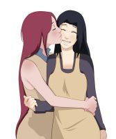 Mikoto and Kushina by Tenesy2