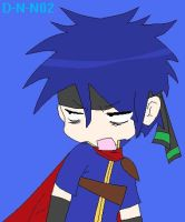 Ike- Lucky Star Style by Death-Note-Ninja02