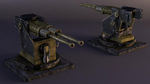 Icarus - Anti-Aircraft Cannon by musegames