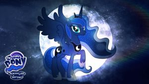 Princess Luna is Best Pony HD Wallpaper by Jackardy