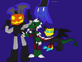 Halloween by fossil-fighter