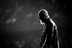 Rob Halford Silhouette by tomcouture