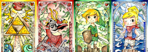 Stained Glass: Wind Waker (Complete) by Scarlett-Winter