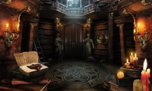 Phantom of the opera. Library by kidy-kat