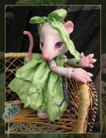 Squeak the Rat - Party dress by TheMushroomPeddler