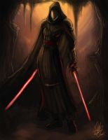 Female Sith speedpainting by Peter-Ortiz