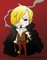 Chibi Sanji by hamburgerpiez523