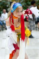 Rikku Cosplay AWA by ELISE-stock