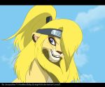 Deidara Lion by Catgirl08