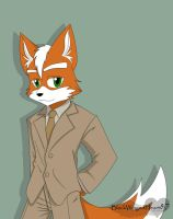 Mr. Fox McCloud by BlackWingedHeart87