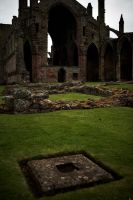 Melrose Abbey - Ruins by Ralelus