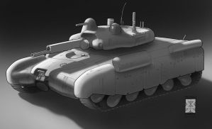 Spearpoint: Roman Tank by Legato895