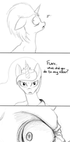 Flare on Equestria [16] by Masdragonflare