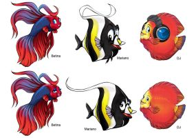 fishes  concept design by Shayeragal
