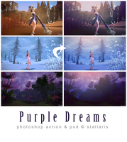 Purple Dreams by Stallaris by stallaris