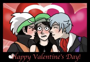 Alexial-VD: Be mine? by TeamHeartGold