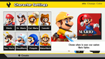 SSB - Custom Mario Menu by KidBobobo