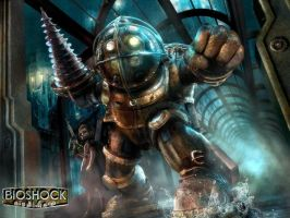 BioShock 1 by gamergaijin