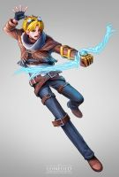 Ezreal by LONEOLD