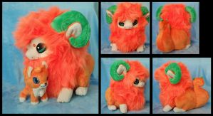 Little Orange Yimin Plushie :Commission: by AppleDew