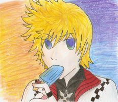 RoXas colored by why-yari