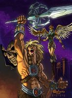 Masters of the universe color by Darsim