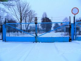 Blue gate by MannyDiax