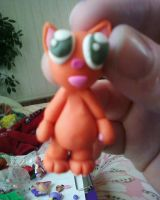 Pat the cat mini figure :3 by Scarlettthewanderer