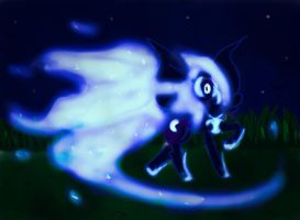 Nightmare Moon by AquaAngel1010